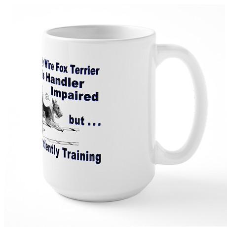 Wire Fox Terrier Agility Large Mug