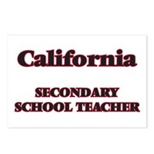 California Secondary Scho Postcards (Package of 8)