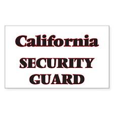California Security Guard Decal