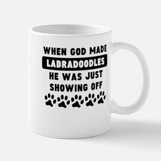 When God Made Labradoodles Mugs