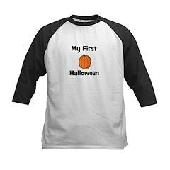 My First Halloween (pumpkin) Kids Baseball Jersey