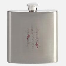 CARDINALS ON ASPEN Flask
