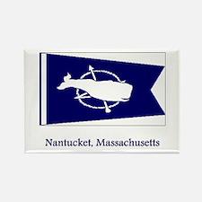 Nantucket MA Flag Rectangle Magnet