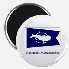 Nantucket MA Flag Magnet