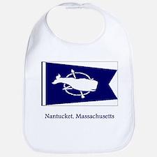 Nantucket MA Flag Bib