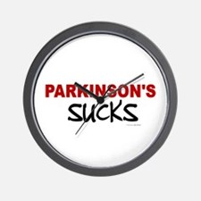 Parkinson's Sucks 1.1 Wall Clock