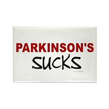 Parkinson's Sucks 1.1 Rectangle Magnet
