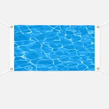 Blue Water Banner