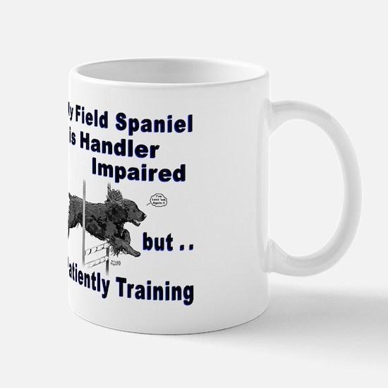 Field Spaniel Agility Mug