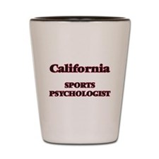 California Sports Psychologist Shot Glass