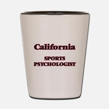 California Sports Psychologist Shot Glass