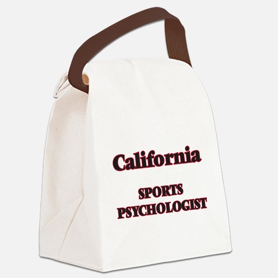 California Sports Psychologist Canvas Lunch Bag