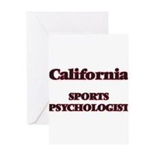 California Sports Psychologist Greeting Cards
