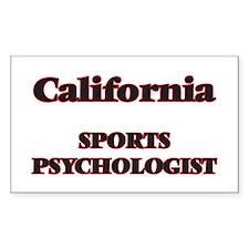 California Sports Psychologist Decal