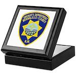 Bernalillo County Sheriff Keepsake Box