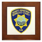 Bernalillo County Sheriff Framed Tile