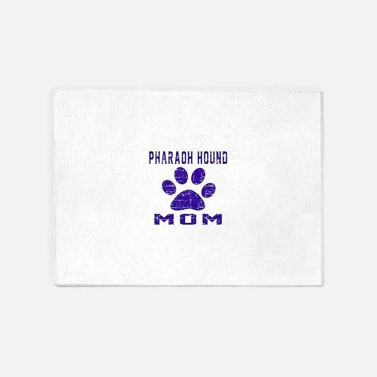 Pharaoh Hound mom designs 5'x7'Area Rug