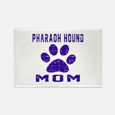 Pharaoh Hound mom designs Rectangle Magnet