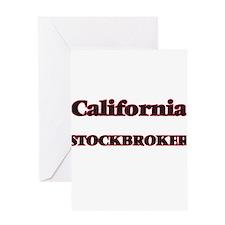 California Stockbroker Greeting Cards