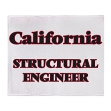 California Structural Engineer Throw Blanket