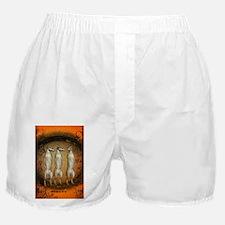 Funny meerkats Boxer Shorts
