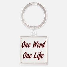 One Word Keychains