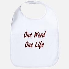 One Word Bib