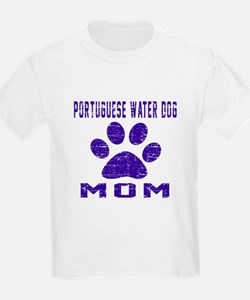 Portuguese Water Dog mom design T-Shirt