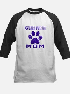 Portuguese Water Dog mom desi Tee