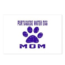 Portuguese Water Dog mom Postcards (Package of 8)