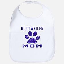 Rottweiler mom designs Bib