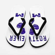 Rottweiler mom designs Flip Flops