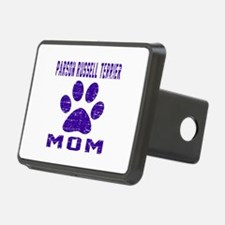 Parson Russell Terrier mom Hitch Cover
