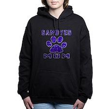 Samoyed mom designs Women's Hooded Sweatshirt