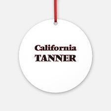 California Tanner Round Ornament