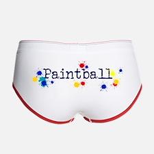 Paintball Splatter Women's Boy Brief
