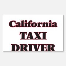 California Taxi Driver Decal
