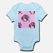afro floral Body Suit