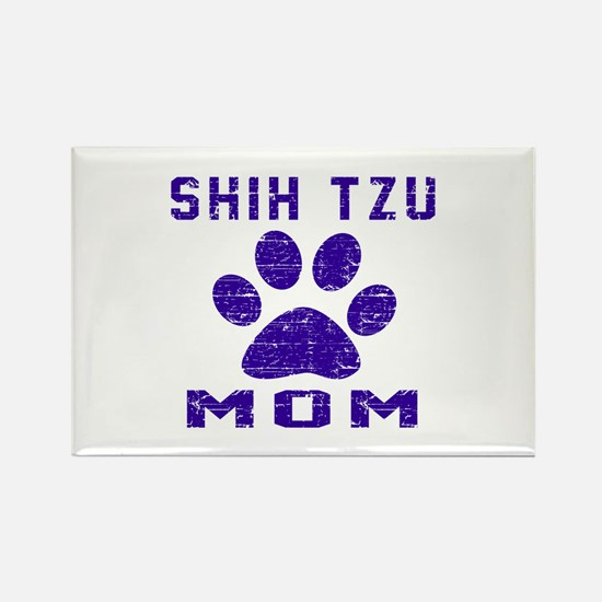 Shih Tzu mom designs Rectangle Magnet