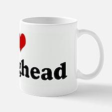 I Love my egghead Mug