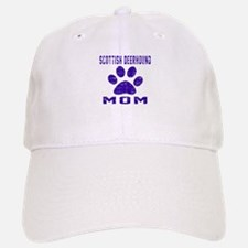 Scottish Deerhound mom designs Baseball Baseball Cap