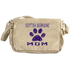 Scottish Deerhound mom designs Messenger Bag