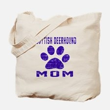 Scottish Deerhound mom designs Tote Bag