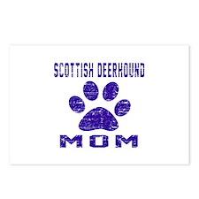 Scottish Deerhound mom de Postcards (Package of 8)