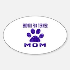 Smooth Fox Terrier mom designs Decal