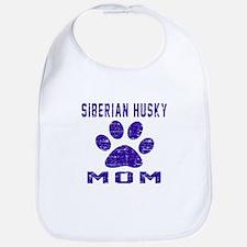 Siberian Husky mom designs Bib