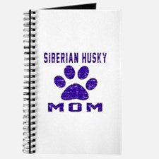 Siberian Husky mom designs Journal