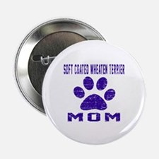 """Soft Coated Wheaten Terrie 2.25"""" Button (100 pack)"""