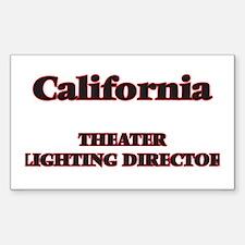 California Theater Lighting Director Decal