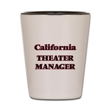 California Theater Manager Shot Glass